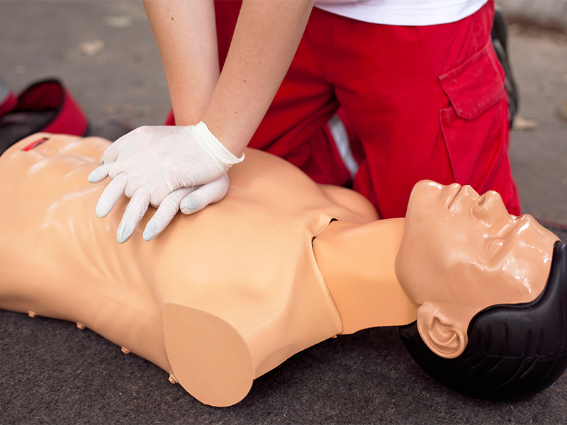 First Aid and CPR Training Course